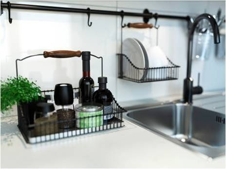 Use Your Walls Kitchen Rail Systems